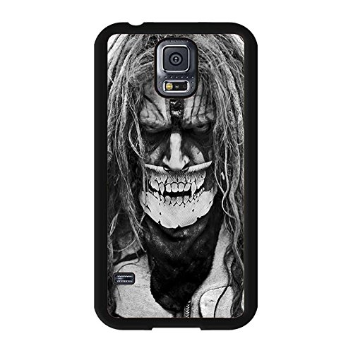 hülle Handyhülle Shell Unique Skull Design Personalized Musician Rob Zommbie Phone hülle Handyhülle Cover for Samsung Galaxy S5 I9600 Singer Rob Zommbie Great,Telefonkasten SchutzHülle