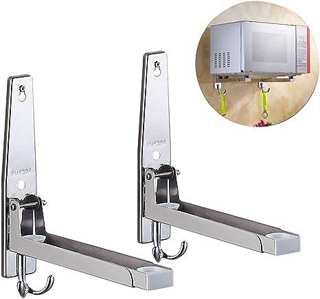 Microondas soporte con ganchos, Mikrowellenh Proyector Microondas ...