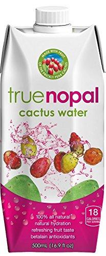 True Nopal Cactus Water, 16.90 Fluid Ounce (Pack of 12)