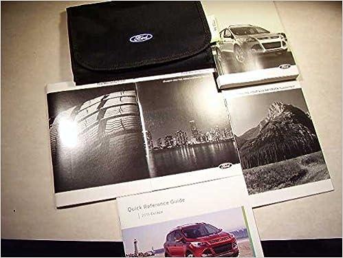 2016 ford escape titanium owners manual pdf