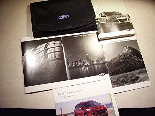 Ford Escape Manual - 2015 Ford Escape Owners Manual with Case Book Set