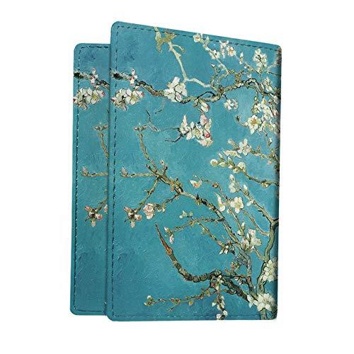 Mikash Premium PU Leather RFID Blocking Cards Travel Wallet Passport Holder Case Cover | Model TRVLWLLT - 1344 ()