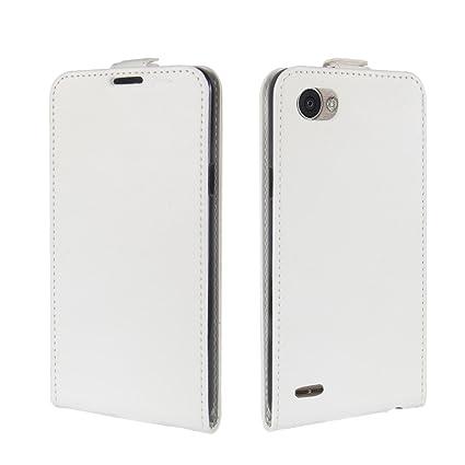 Amazon.com: Scheam LG Q6 Plus Case Flip Cover Protective ...