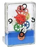 Fascinations GearUp Desktop Clock Multi-Color (Blue Base)