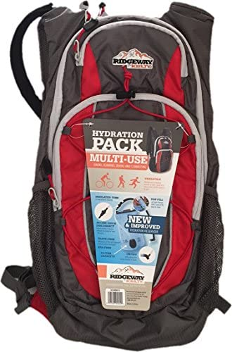 Ridgeway by Kelty 2 Liter Hydration Pack – Red