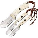 Puma 6583000 Trophy Care Bone Handle Knife Set