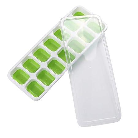 Bandejas de cubitos de hielo 1pack, de silicona cubo de hielo ...