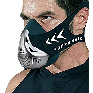 FDBRO Training Mask Fitness for Running,Size Small,Medim and Large,Resistance,Cardio,Endurance Mask for Fitness Training…