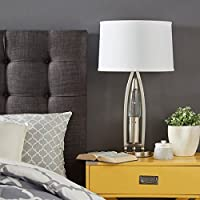 iNSPIRE Q Bold Hinsdale Nickel Finish Dancing Water Table Lamp Deals