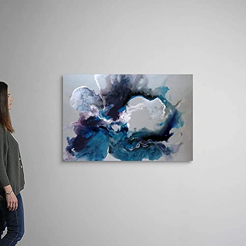 Cerulean Waters Canvas Wall Art Print