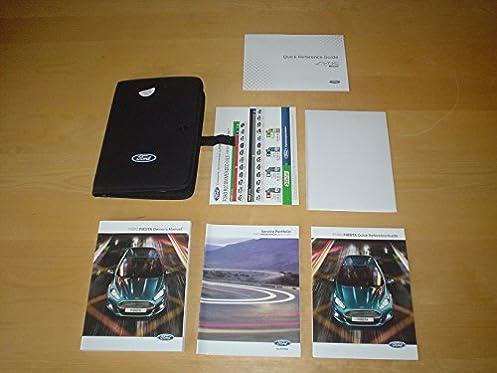 ford fiesta mk7 st owners manual handbook 2008 2015 3 door 5 rh amazon co uk ford fiesta owners manual 2003 ford fiesta owners manual 2003
