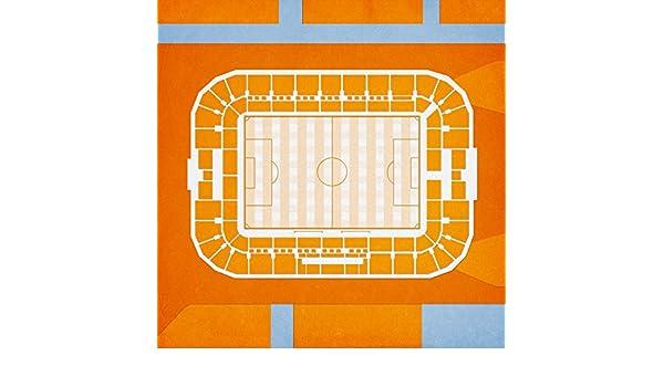 Amazoncom Bbva Compass Stadium Map Art 24 Wood Art Panel