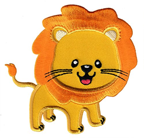 PatchMommy Iron On Patch, Lion - Appliques for Kids ()