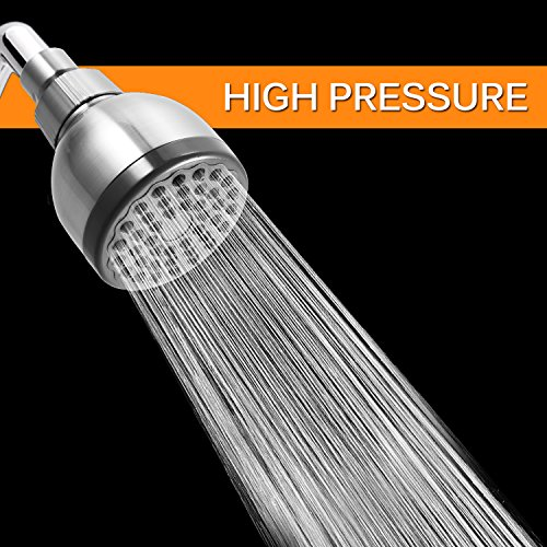Bathwa Shower Head 3 Inch High Pressure High Flow Fixed
