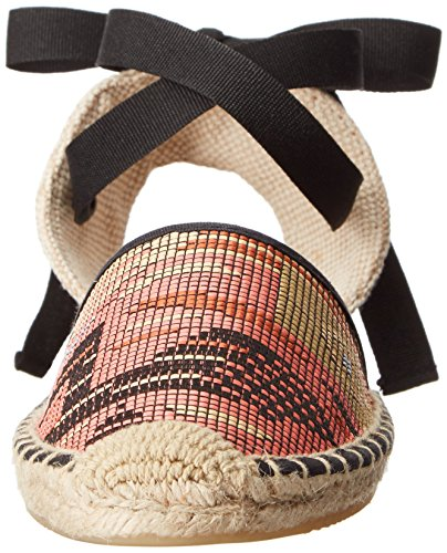 Multi Black Women's Classic Soludos Flat Sandal qwSFz7x