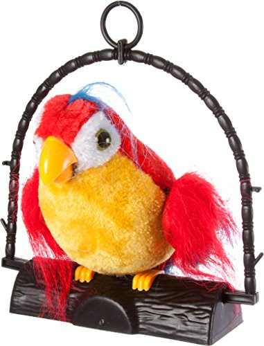 Red Repeating Parrot Toy - By Blue Ridge Novelty