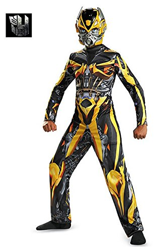 Classic Bumblebee Girls Costumes (Transformers Bumblebee Classic Child Costume (Medium))