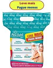 Toalha Higiênica Umedecida Meu Bebe Ultra 50x5 Leve+ Pague -