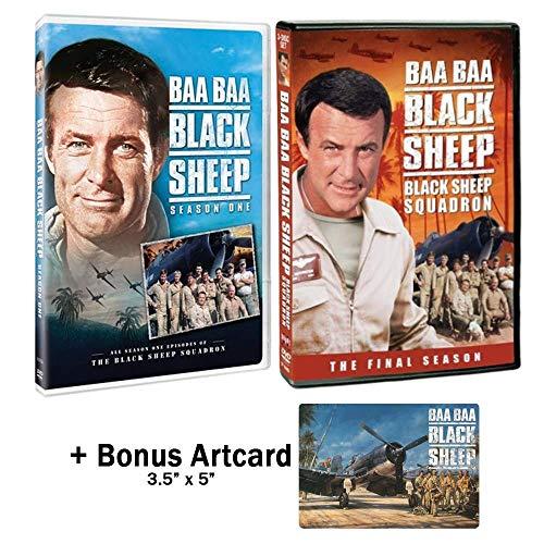 Baa Baa Black Sheep Squadron Complete Series DVD - Seasons 1 & 2 with Bonus
