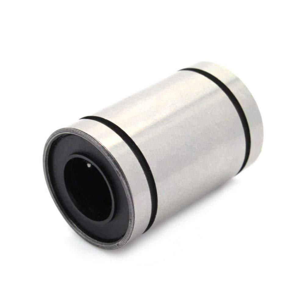 12pcs LM8UU Linearlager f/ür 8mm Stange 3D Drucker RepRap Prusa Mendel i3 Kossel Delta