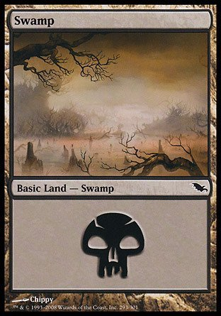 Magic: the Gathering - Swamp (293) - Shadowmoor - Foil by Magic: the Gathering