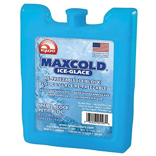 Reusable Ice Block, 5-1/4x3/4x4-1/4 in.