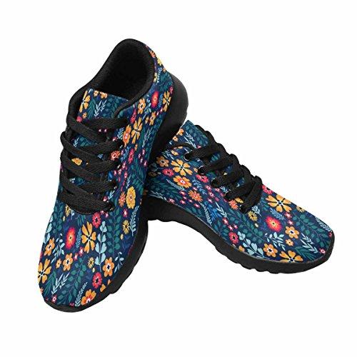 Scarpe Da Corsa Trail Running Da Donna Jogging Leggero Sportivo Da Passeggio Sneaker Atletico Carino Fiori Piccoli Multi 1