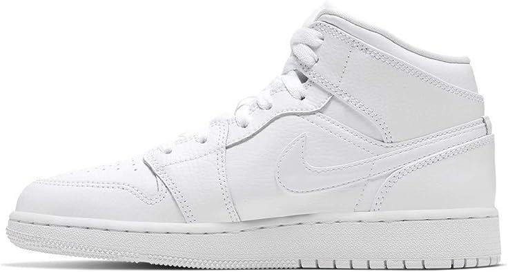 Nike Air Jordan 1 Mid (Gs), basketbalschoenen voor kinderen