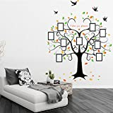 YUFENG Large Family Tree Photo Frames Wall Decal - The Sweetest Highlight of Your Home and Family