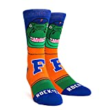 NCAA Florida Gators Albert Mascot Knitted Socks, Large/X-Large, Orange