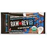 Raw Revolution 100 Calorie Organic Live Food Bar, Chocolate Coconut Bliss, 20 Count, 0.8oz Bars
