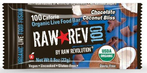 Raw Revolution Calorie Organic Chocolate