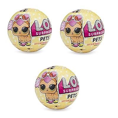 L.O.L Surprise Pets Series 3 3-pack