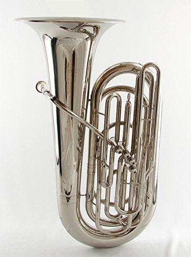 Schiller American Heritage 4-Valve Piston Tuba - Nickel Finish