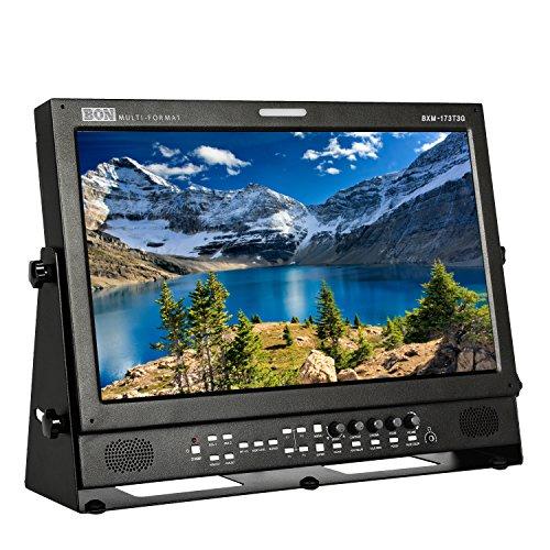 "Ikan 17.3"" 3G/HD/SD-SDI & HDMI LCD Studio Broadcast & Production Monitor with PIP (Bon) (BXM-173T3G)"