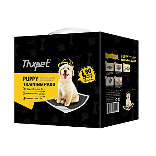 Thxpet Pet Puppy Pads Black Activated Carbon 22