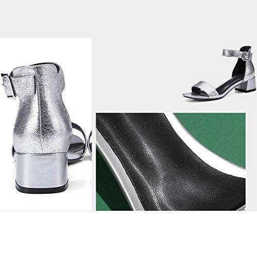 Pantoufles Mode Talon Chaussures Été Ouvert Rugueux Enveloppant Sandales Ms Hauts À Talons 2 Bout 7nwxUnP