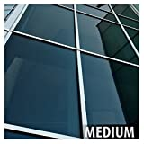 BDF NA35 Window Film Sun Control and Heat Rejection N35, Black (Medium) - 36in X 12ft