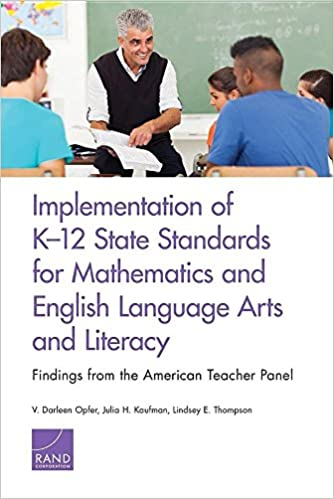 Implementation of K-12 State Standards for Mathematics and