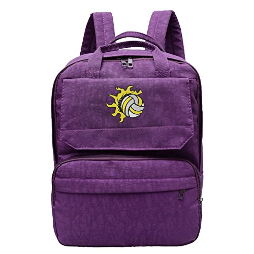 Flying Volleyball Backpack For Women,Girls Leisure - Candid Volleyball