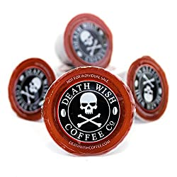 Death Wish Single Serve Capsules for Keurig K-Cup Style Brewing Systems