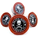 Death Cups by Death Wish Coffee, The World's Strongest Single Serve Coffee Capsule (10 Capsules)