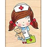 Penny Black Decorative Rubber Stamps, First Aid Mimi
