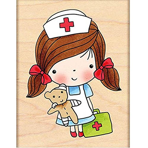 Penny Black Decorative Rubber Stamps, First Aid Mimi by Penny Black Inc