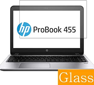 """Synvy Tempered Glass Screen Protector for HP ProBook 455 G4 15.6"""" Visible Area Protective Screen Film Protectors 9H Anti-Scratch Bubble Free"""