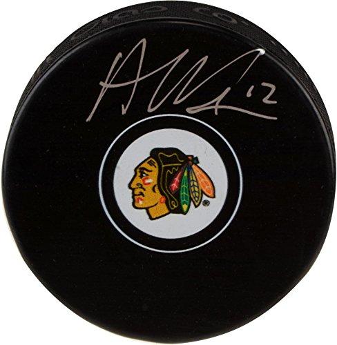 Alex DeBrincat Chicago Blackhawks Autographed Hockey Puck - Fanatics Authentic Certified - Autographed NHL Pucks ()