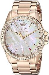 Juicy Couture Women's 1901262 Stella Analog Display Quartz Rose Gold Watch