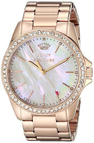 Juicy Couture Women's 1901262 Stella Analog Display Quartz Rose Gold Watch ()