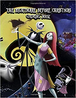 The Nightmare Before Christmas Coloring Book This Amazing Coloring