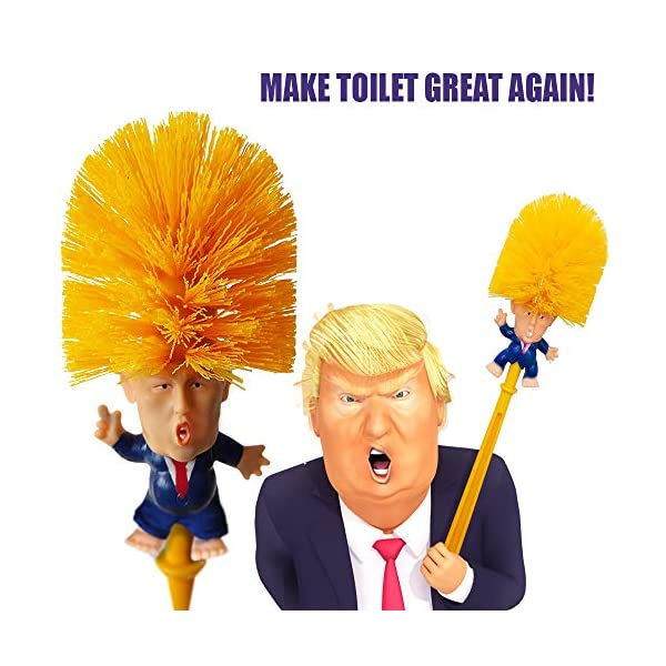 ProdeeCo-Donald-Trump-Toilet-Brush-with-Legs-Trump-Toilet-Scrubber-Make-Toilet-Great-Again-Funniest-Political-Gag-Gift-Commander-in-Crap